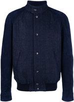 Tod's denim bomber jacket - men - Cotton/Spandex/Elastane/Polyester/Viscose - S