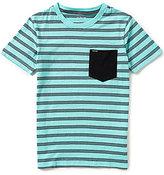 Hurley Big Boys 8-20 Varsity-Stripe Short-Sleeve Tee