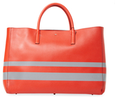 Anya Hindmarch Ebury Featherweight Stripes Maxi Leather Tote