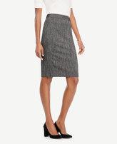 Ann Taylor Herringbone Pencil Skirt