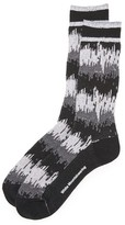 White Mountaineering Wave Camouflage Socks