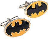 AIRWHEEL Batman black yellow brass cufflinks for men
