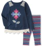 Kids Headquarters Baby Girl's Tunic & Leggings Set
