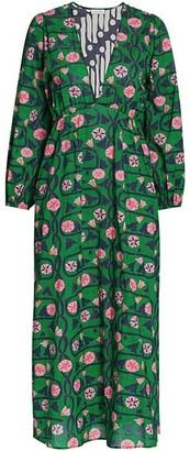 Rhode Resort Camilla Printed Midi Dress