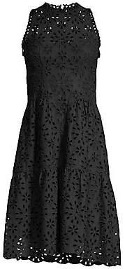 Nanette Lepore Women's Flower Child Eyelet Dress