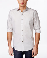 Tasso Elba Men's Print Long-Sleeve Shirt, Only at Macy's