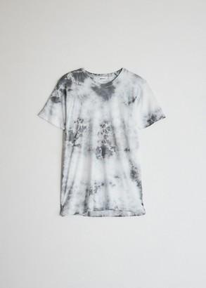 Need Women's Short Sleeve Dye T-Shirt in Slate Tie-Dye, Size Extra Small | 100% Cotton