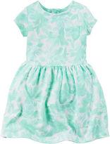Carter's Short-Sleeve Floral-Print Dress - Toddler Girls 2t-5t