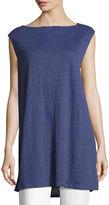 Eileen Fisher Organic Linen Jersey Long Tunic