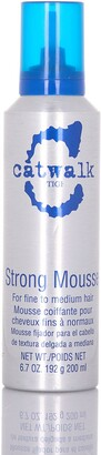 Tigi Catwalk Strong Mousse - 6.7 oz.
