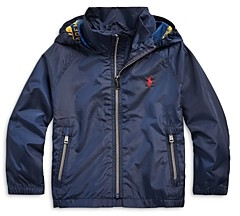 Ralph Lauren Polo Boys' Packable Water Resistant Jacket - Little Kid