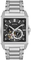 Bulova Men's Stainless Steel Automatic Skeleton Watch - 96A194