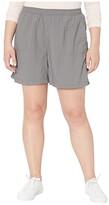 Columbia Plus Size Sandy Rivertm Short (City Grey) Women's Shorts