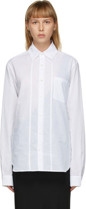Ann Demeulemeester White Classic Shirt