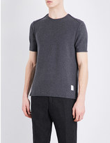 Thom Browne Exposed-seams cotton t-shirt