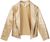 Petit Lem Faux Leather Blazer (Toddler & Little Girls)