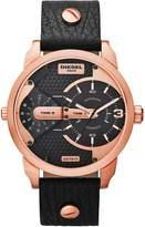 Diesel Men's Mini Daddy DZ7317 Leather Quartz Watch