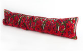 "Mackenzie Childs MacKenzie-Childs Poppy Garden Lumbar Pillow, 38"" x 8"""