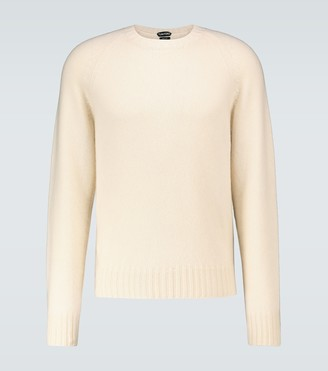 Tom Ford Cashmere-blend crewneck sweater