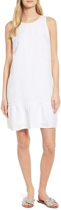 Tommy Bahama Porte Fino Sleeveless Linen Blend Shift Dress