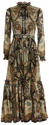 Etro Silk Catria Maxi Dress