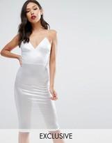 Club L Metallic Midi Dress