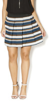 Freeway High Waisted Striped Skirt