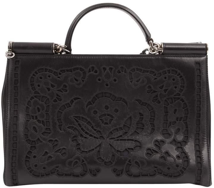 Dolce & Gabbana Sicily leather bag