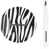 Tweezerman Fashion Chic Pointed Slant Tweezer & Mirror Set