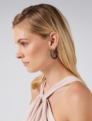 Ever New Camilla Chunky Resin Hoop Earrings