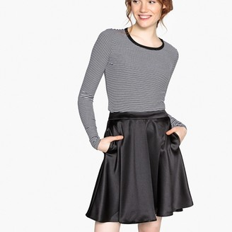 La Redoute Collections Knee-Length Flared Skirt