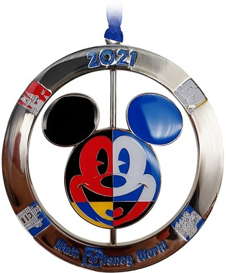 Disney Mickey Mouse Icon Metal Spinner Ornament Walt World 2021