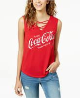 Love Tribe Juniors' Coca-Cola Graphic Tank Top