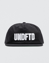 Undefeated UNDFTD Applique Strapback Cap