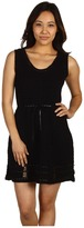 Edun Crochet Dress (Black) - Apparel