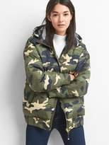 Gap Reversible camo puffer jacket