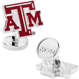 Cufflinks Inc. Men's Palladium Texas A & M Aggies Cufflinks