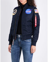 Alpha Industries NASA MA-1 shell flight jacket