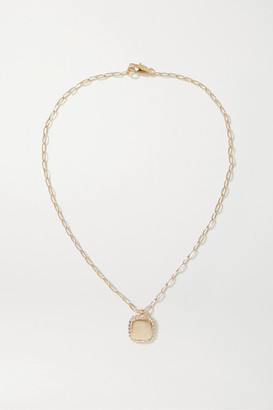 Laura Lombardi Net Sustain Stella Gold-plated Necklace
