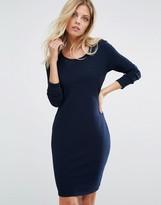 BOSS ORANGE Jersey Bodycon Dress