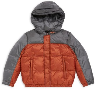 Emporio Armani Kids Hooded Puffer Coat (4-16 Years)