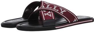 Bally Bonks-T/218 Red/White) Men's Shoes