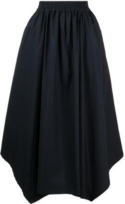 Lorena Antoniazzi Handkerchief-Hem Flared Skirt