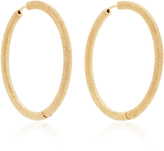 Carolina Bucci Florentine Large Thick Hoop Earrings