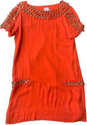 Collette Dinnigan Orange Silk Dress for Women