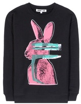 McQ by Alexander McQueen Printed cotton-blend sweatshirt