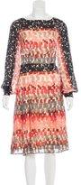 Carolina Herrera Silk Midi Dress w/ Tags