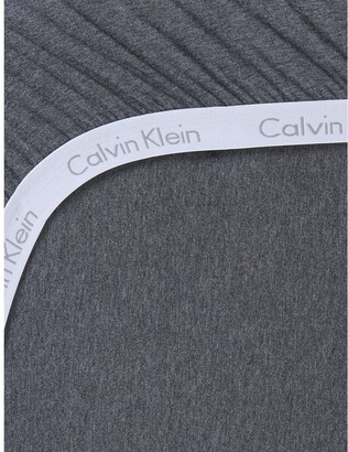 Calvin Klein Modern Cotton - Body Fitted Sheet In Charcoal