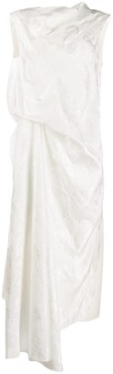 Loewe Asymmetric Draped Dress