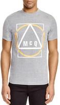 McQ by Alexander McQueen Geometry Logo Graphic Tee